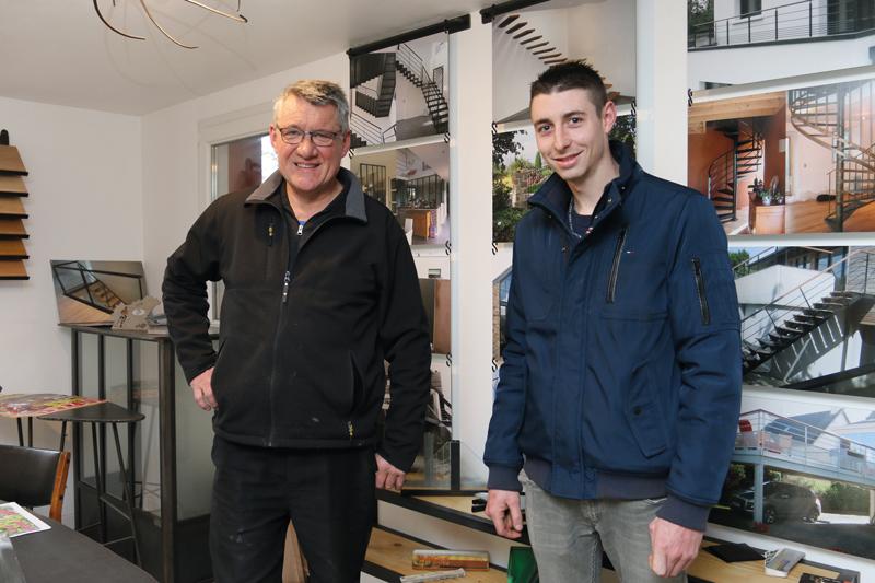 Après avoir acquis de l'expérience à Ploumagoar et Plaintel, Jonathan Collin, l'ancien apprenti, forme avec Pierre Le Bars un duo particulièrement complémentaire.
