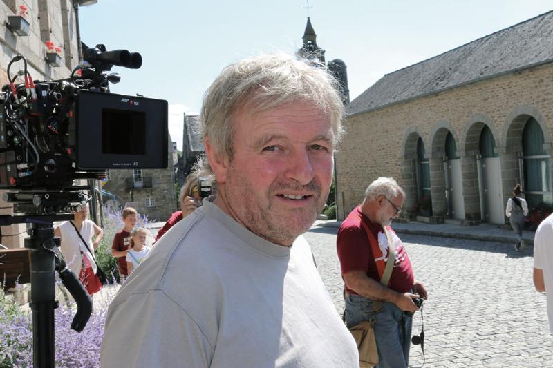 """Jacques Lotout, très présent sur ce tournage. Conseillé """"vollaille"""", il a aussi tenu un petit rôle dans le film de Mélanie Auffet (Photo plc)"""