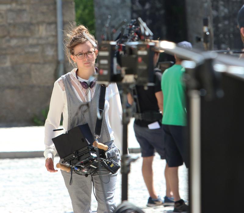 Mélanie Auffret s'est sentie très à l'aise chez elle, en Centre Bretagne. «L'accueil a été FABULEUX». (Photo PLC)