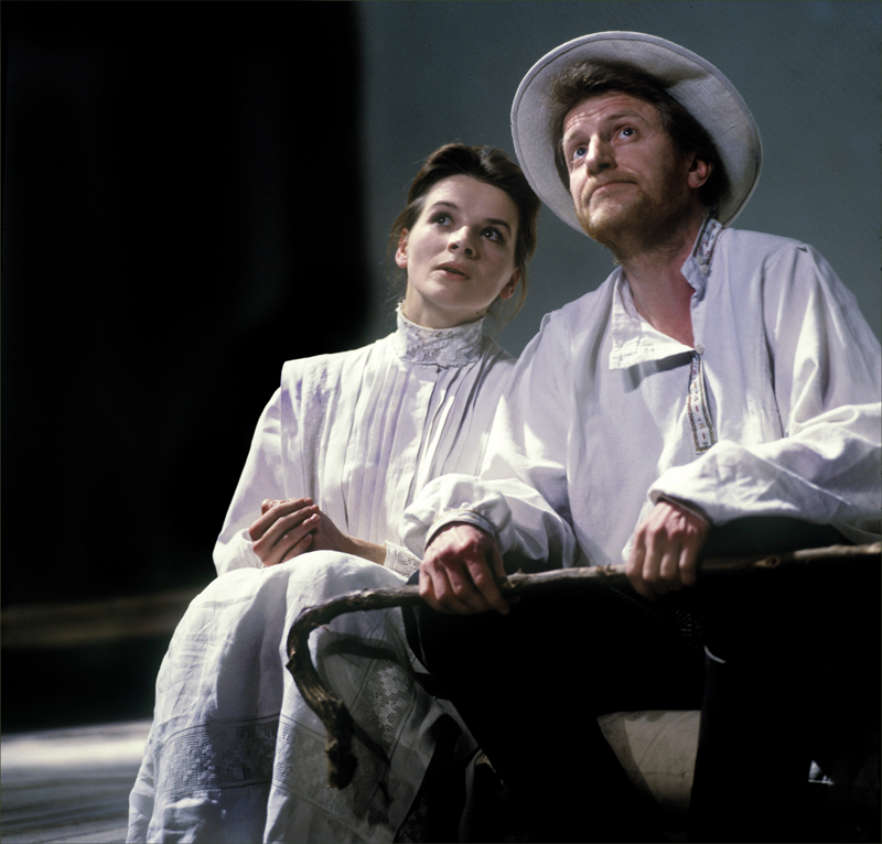 Juliette Binoche et André Dussolier par Marc Enguerand.